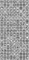Free Grey Button Icons