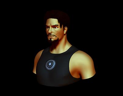 Tony Stark Icon by aha-soft-icons
