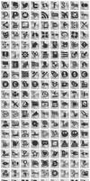 Free Silver Button Icons