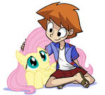 Fluttershy and Todo