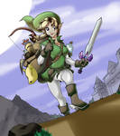 Female Link on a New Quest