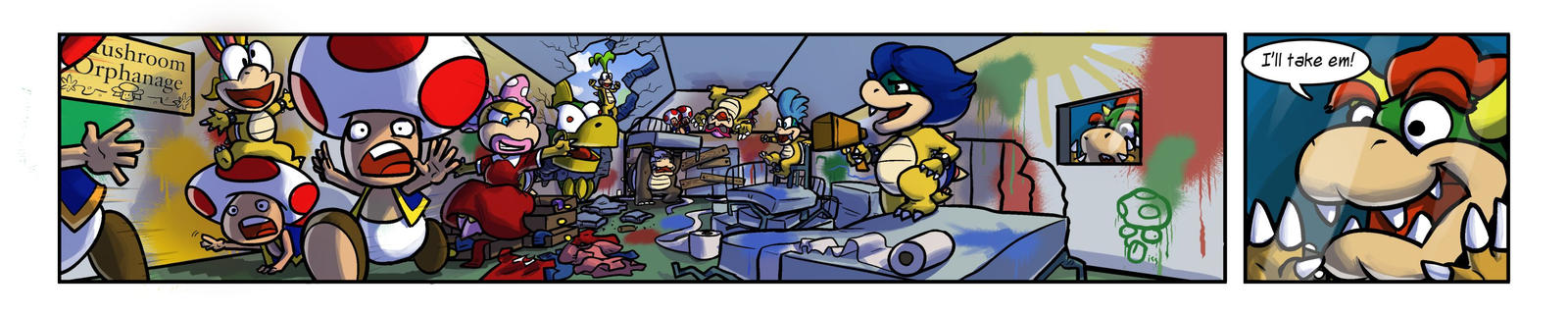CMSN - Koopaling Orphanage by tran4of3