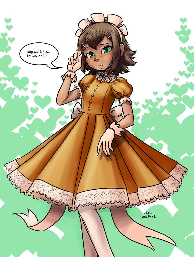 HideyoshiDress sml by tran4of3