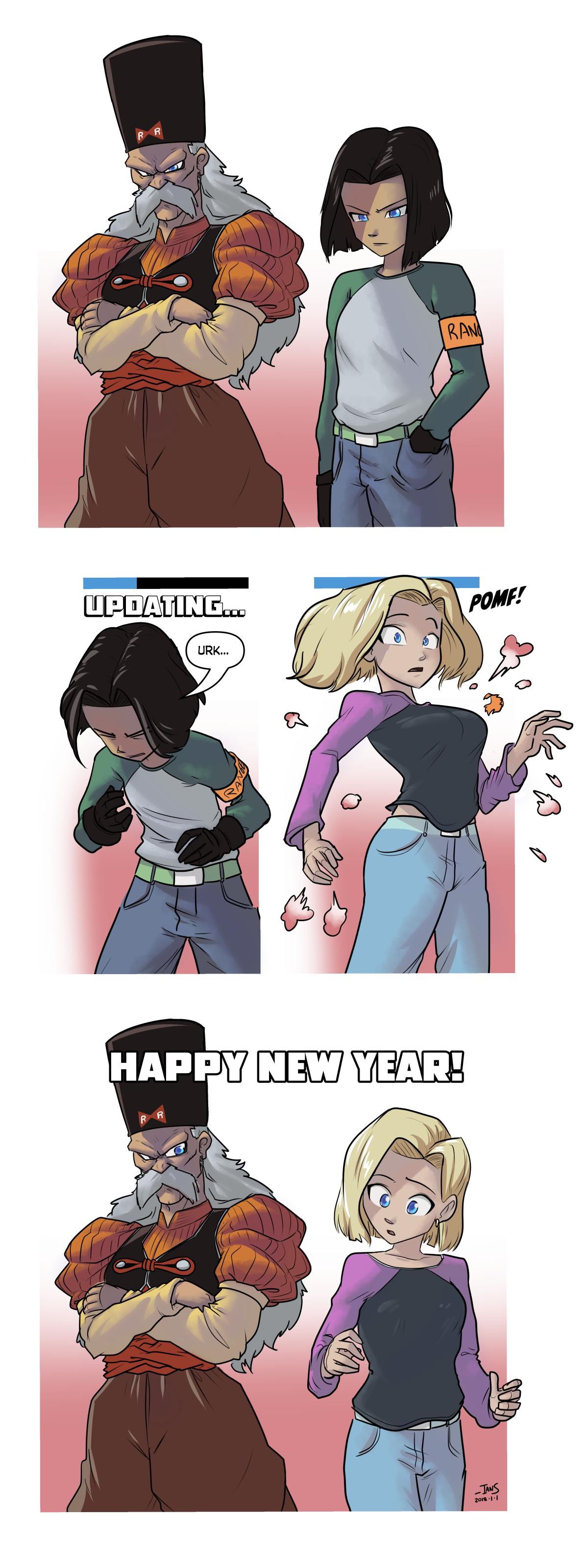 HappyNew2018 by tran4of3
