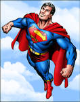 Superman by D-KaNe