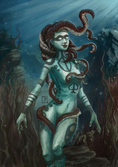 Queen of Spades by SquidGames
