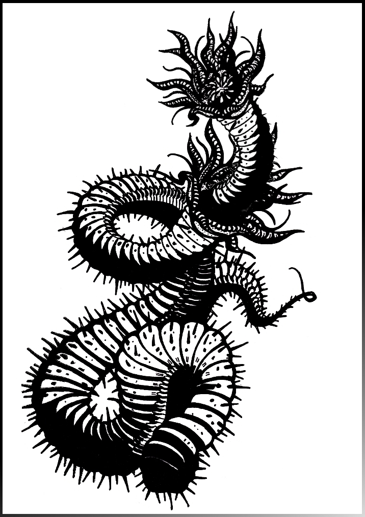 mongolian death worms by strongandbeyond