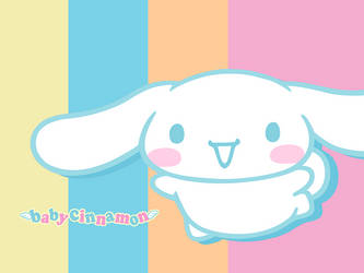 Baby Cinnamoroll by Cleai-Ria