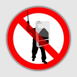 Cops forbidden