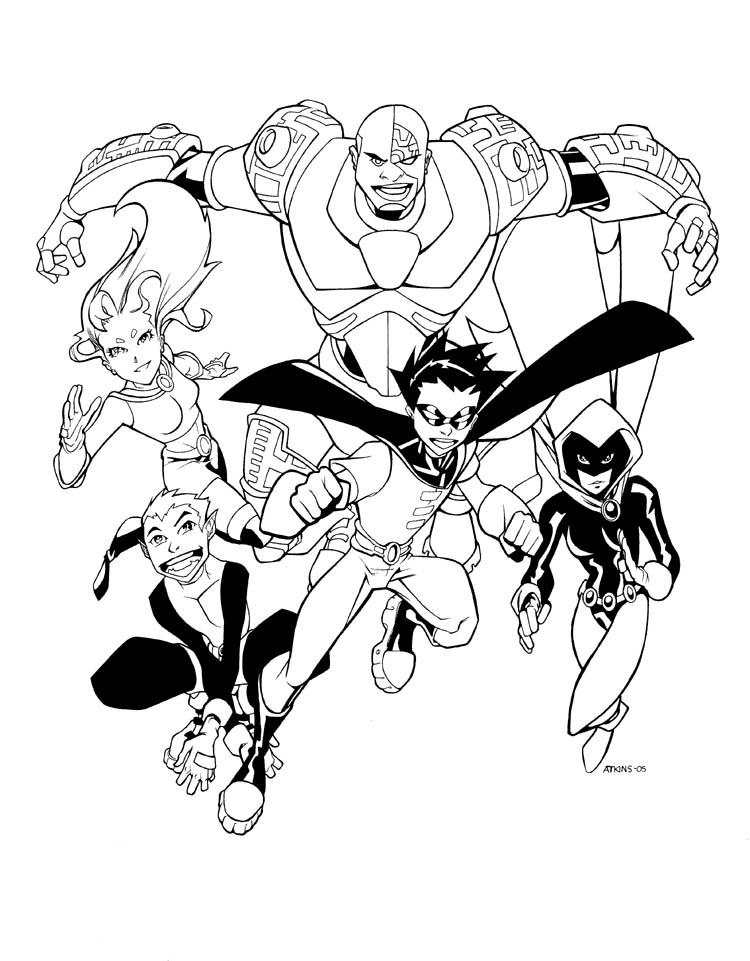 Teen Titans Go By Robertatkins On Deviantart