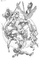Spidermen by RobertAtkins