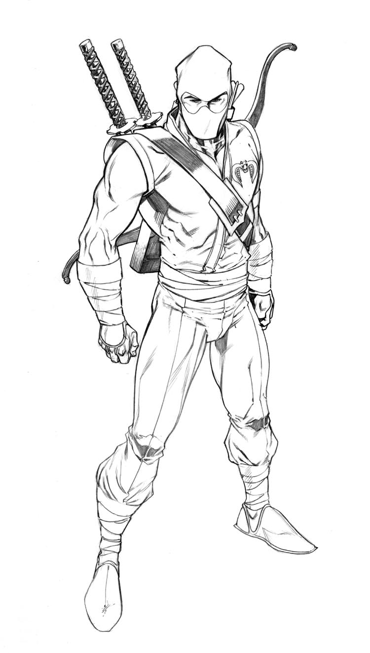 Stormshadow by robertatkins on deviantart for Gi joe coloring pages
