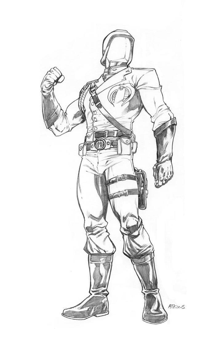 Cobra Commander by RobertAtkins
