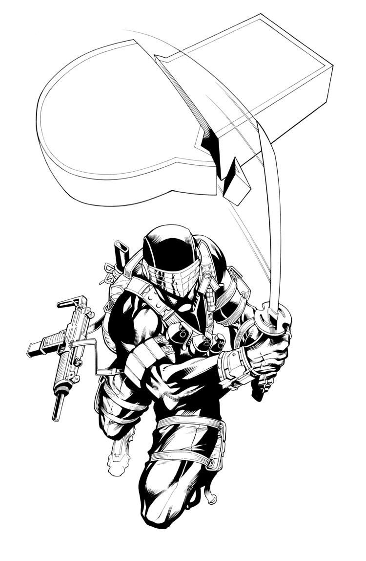 Snake Eyes Inks by RobertAtkins
