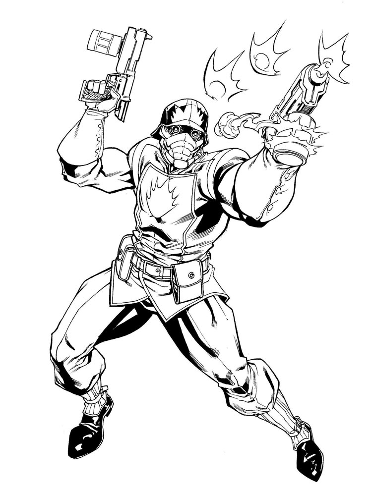 Starlord By Robertatkins On Deviantart