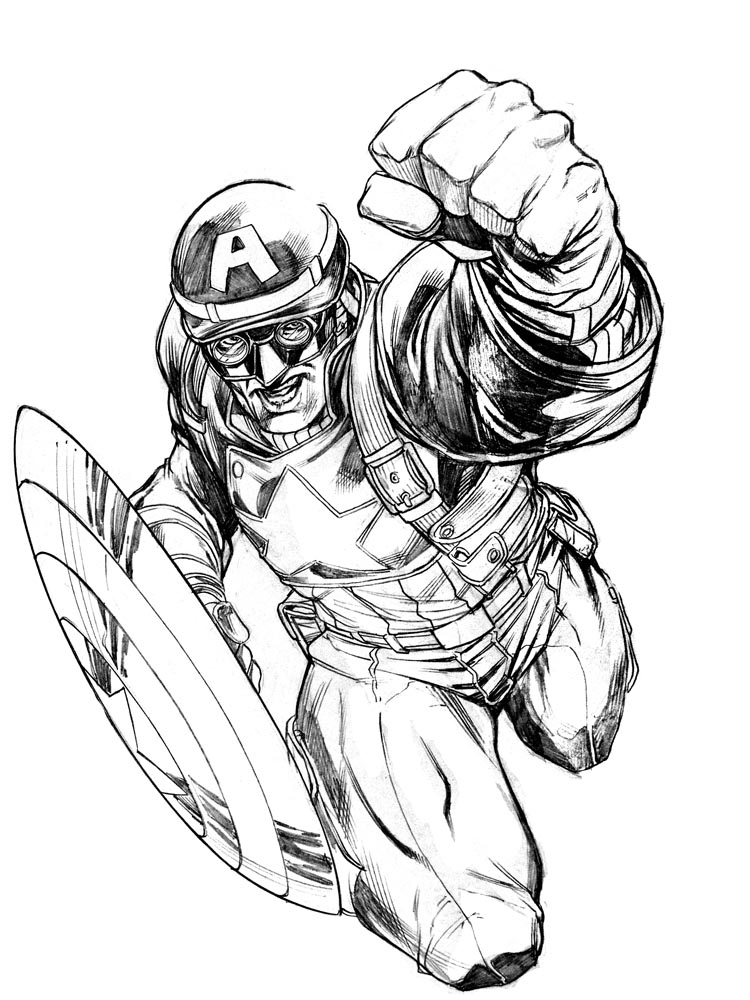 Wwii Cap Sketch By Robertatkins On Deviantart
