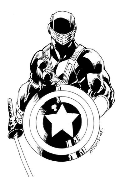 Another SnakeEyes Cap Cover by RobertAtkins