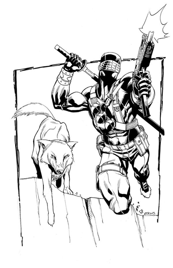 SnakeEyes sketch4 by RobertAtkins