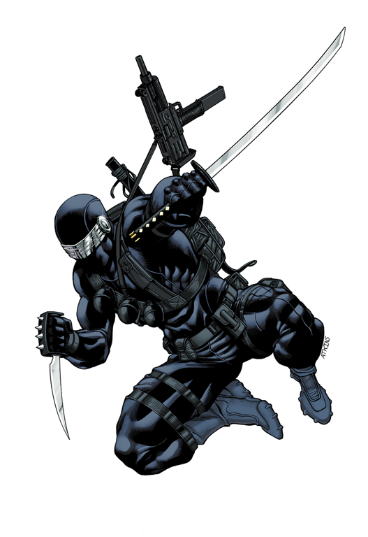 Snake Eyes Promo colors by RobertAtkins