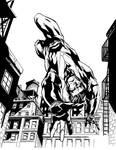 Nightwing Con sketch