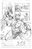Iron Man page by RobertAtkins