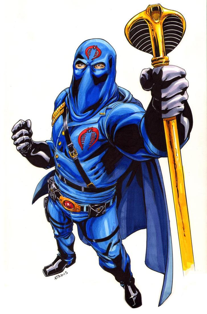 Cobra Commander Colors by RobertAtkins
