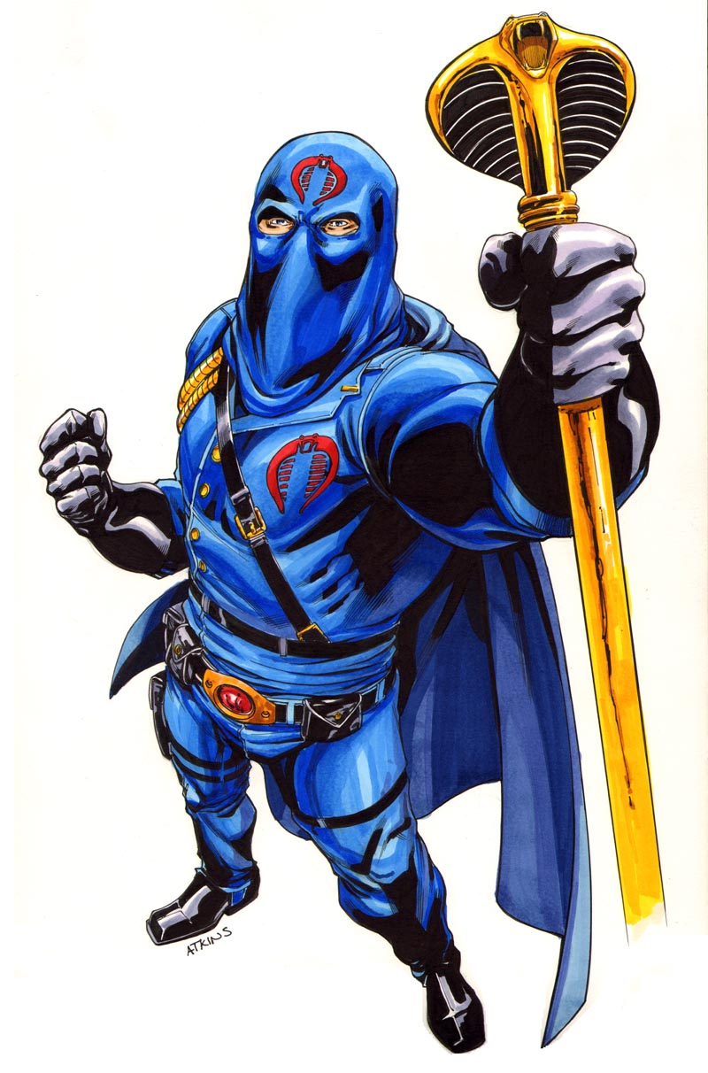 Cobra Commander Colors by RobertAtkins