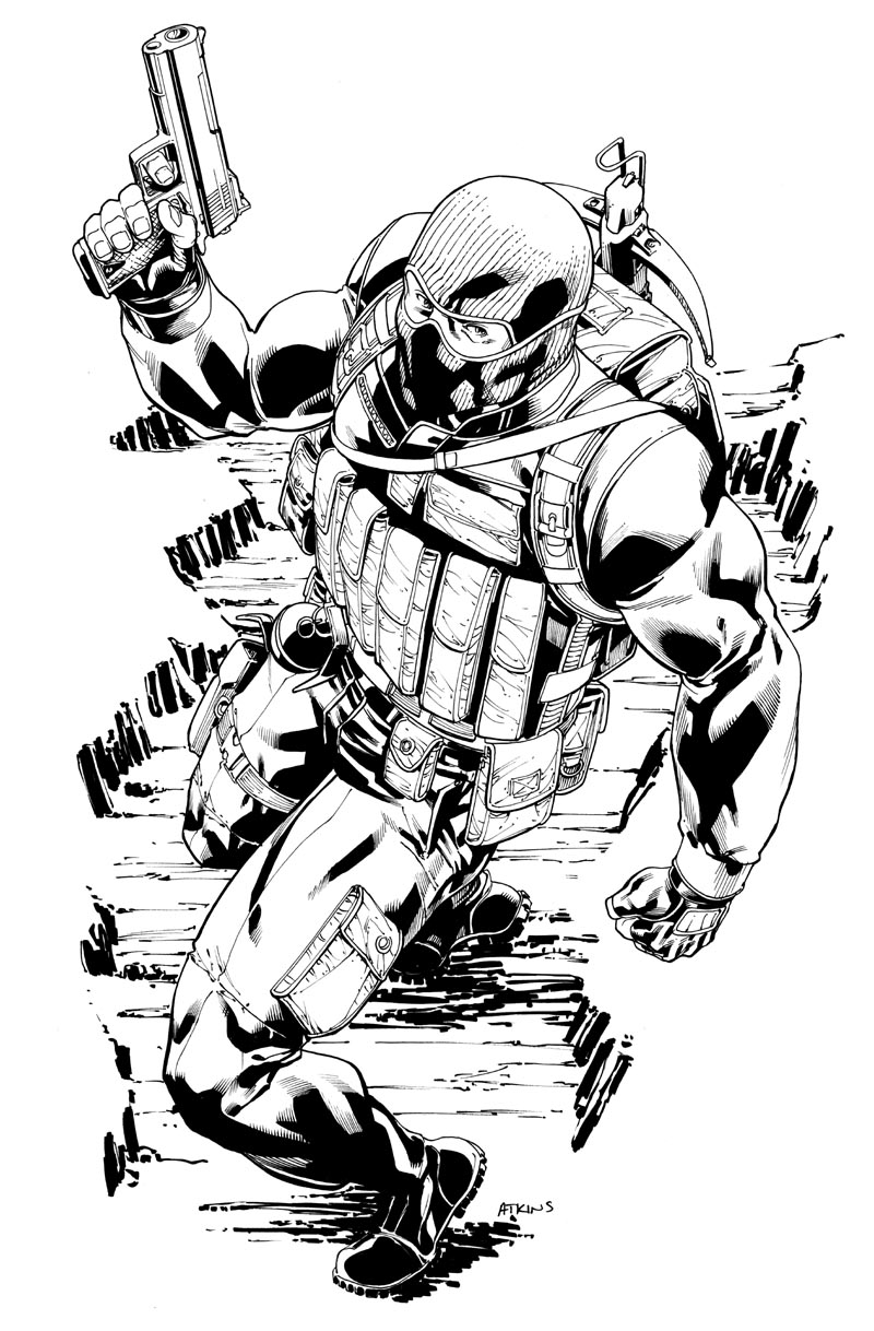 BeachHead C2E2 sketch by RobertAtkins