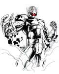 Heroes Con Ultron Sketch