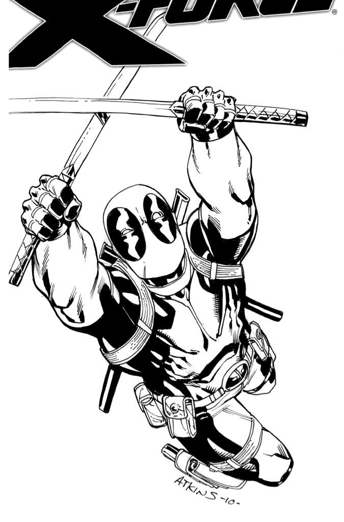 NYCC Deadpool sketch 2 by RobertAtkins on DeviantArt
