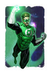 Green Lantern Colors