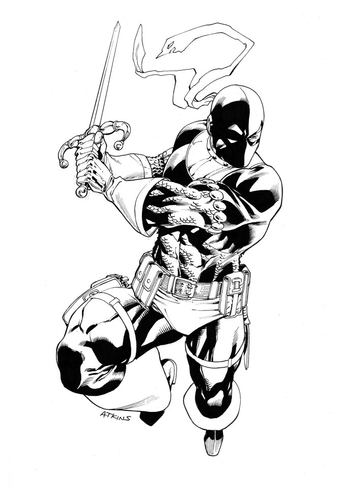 DeathStroke SuperShow 2011 by RobertAtkins