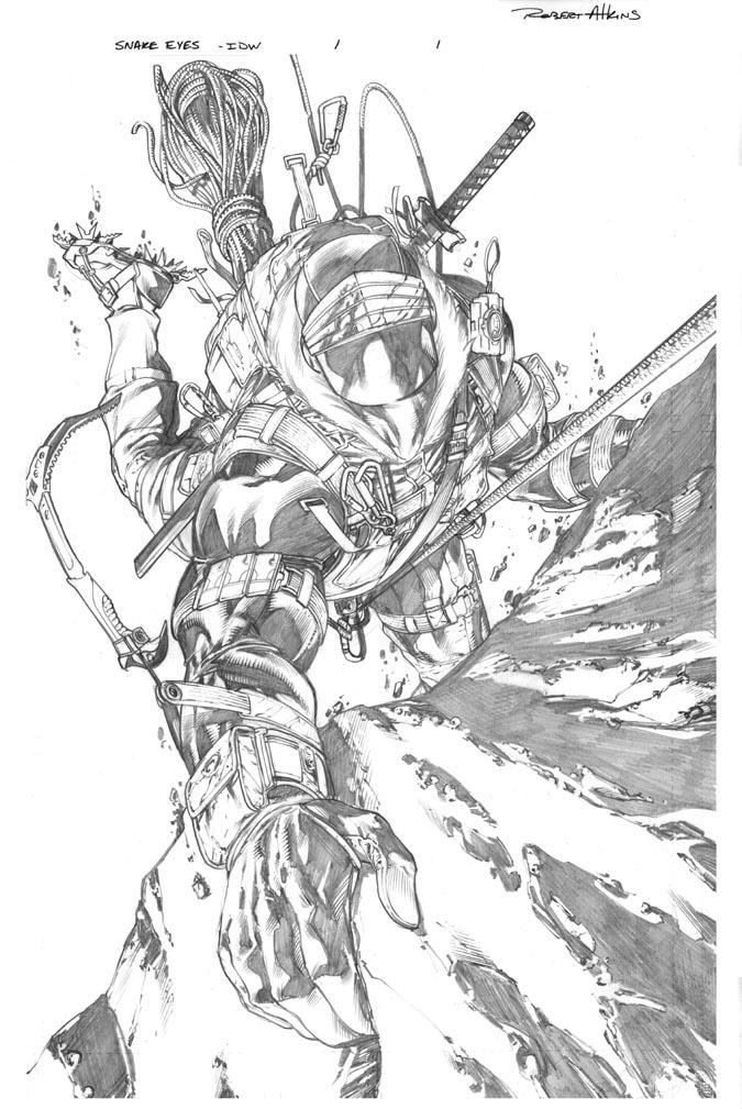 Snake Eyes 1 page 1 by RobertAtkins