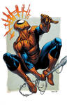 Spiderman Colored by RobertAtkins