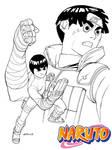 Naruto Rock Lee SOTD