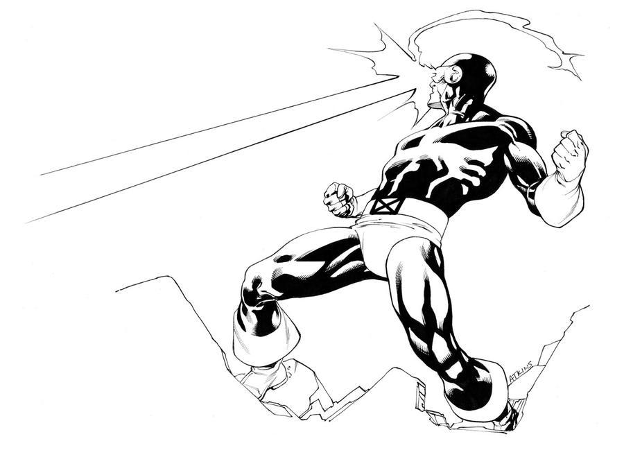 X-Men Month Cycl  X Men Coloring Pages Cyclops