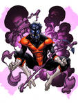 X-Men Month Nightcrawler Color