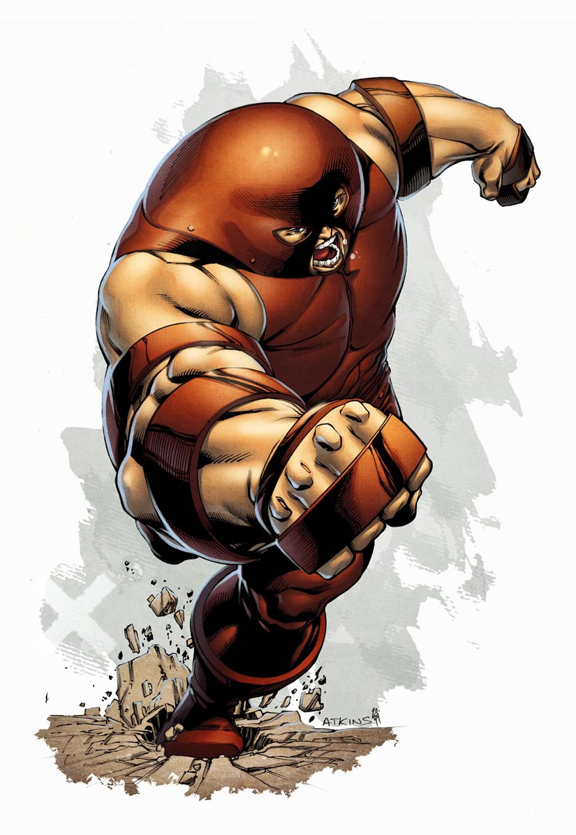 X-Men Month Juggernaut Colors by RobertAtkins