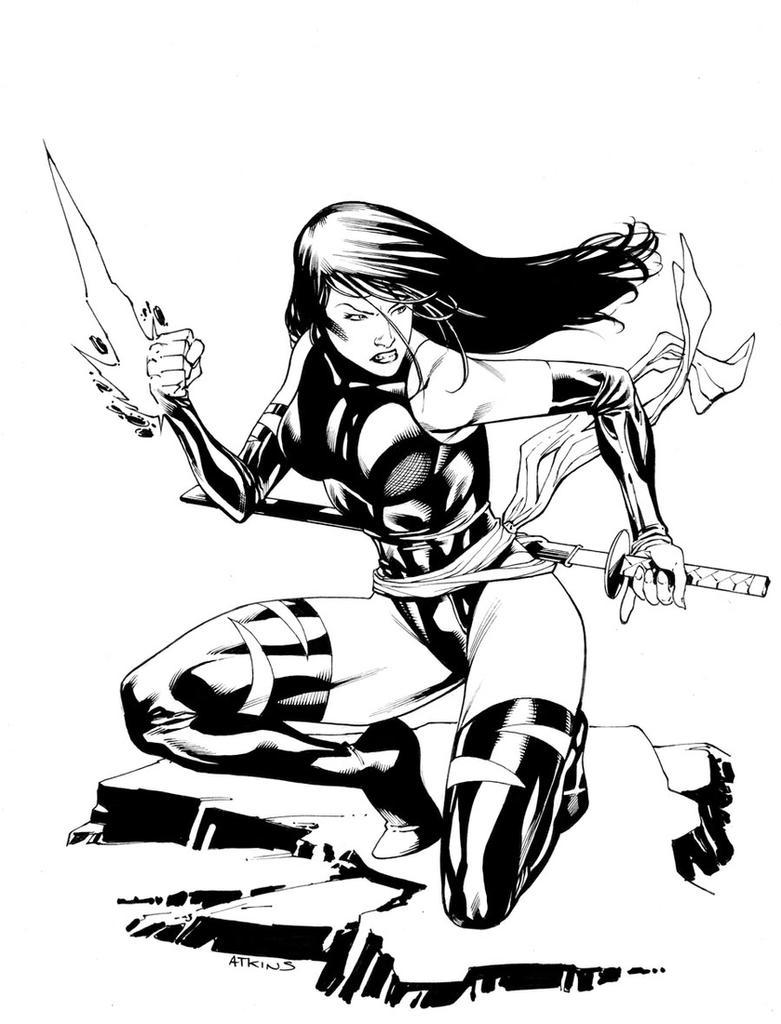 X-Men Month Psylocke SOTD by RobertAtkins