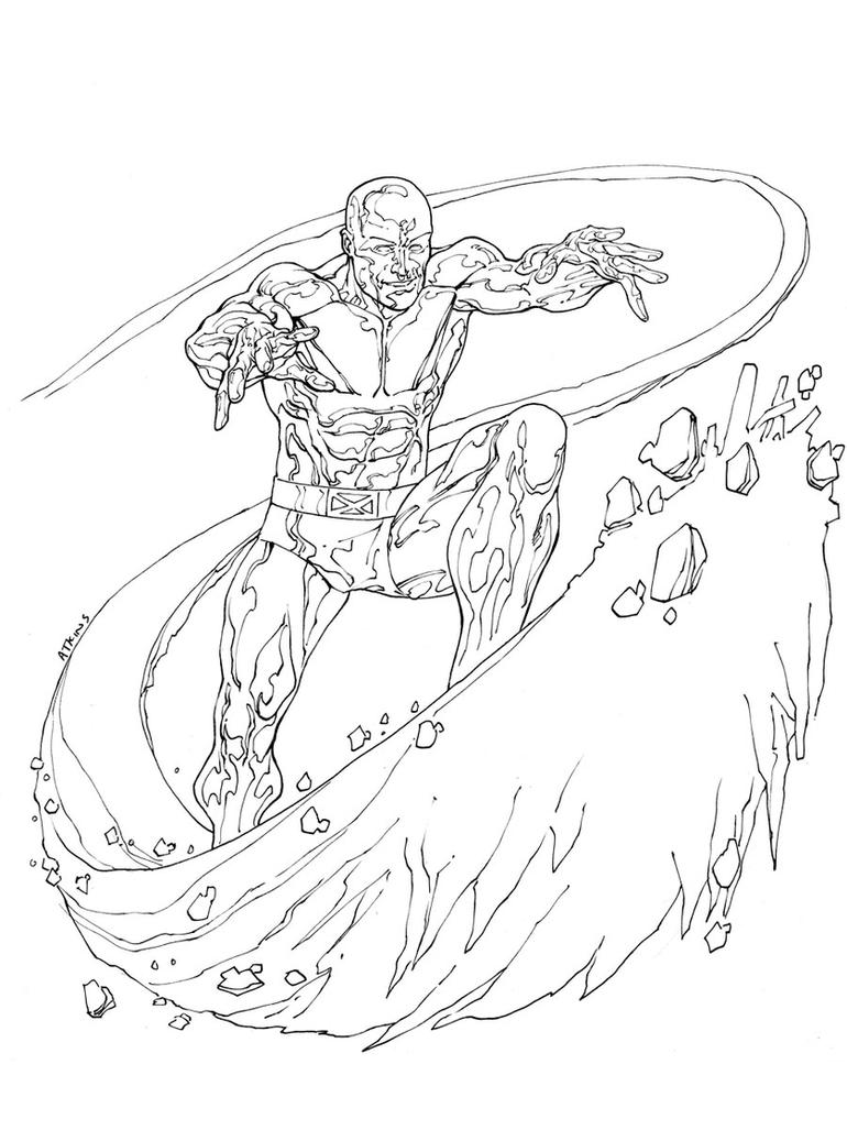 free iceman coloring pages - photo#2