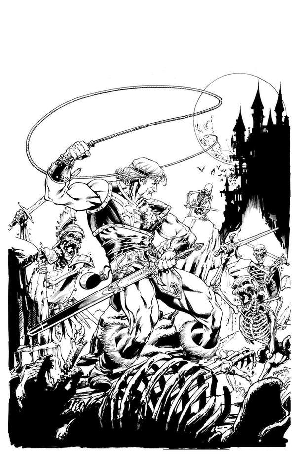 Castlevania Simon Belmont SOTD by RobertAtkins