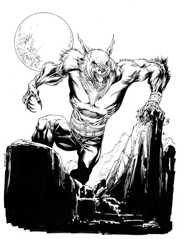 Castlevania Werewolf SOTD by RobertAtkins