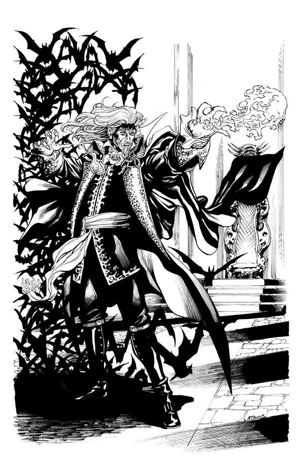 Castlevania Week: Dracula SOTD by RobertAtkins