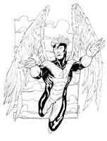 X-Men Angel SOTD by RobertAtkins