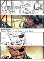 Shadow Gambit Sample panels by RobertAtkins