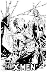 Spiderman vs Storm Shadow SOTD by RobertAtkins