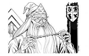 Albus Dumbledore Harry Potter SOTD by RobertAtkins
