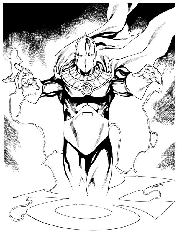 JLA January Dr Fate SOTD by RobertAtkins