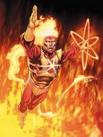 JLA January Firestorm Colors SOTD by RobertAtkins