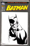 Sketch Cover Batman Bust SOTD